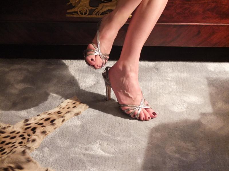 Marc Jacobs Python-Sandaletten