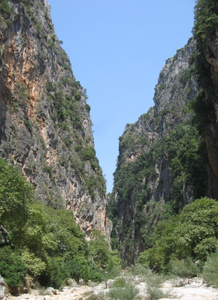 The Canyon of Gjipe